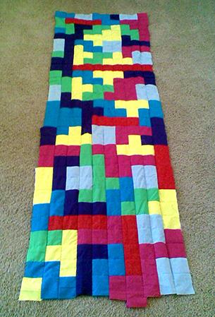 Tetris Quilt A