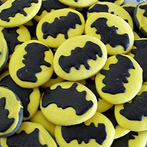 April Sugar Cookies - Batman