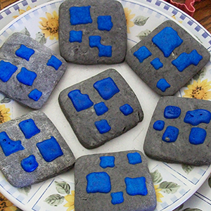 April Sugar Cookies - Lapis Lazuli