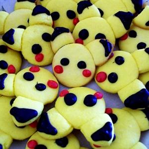 April Sugar Cookies - Pikachu