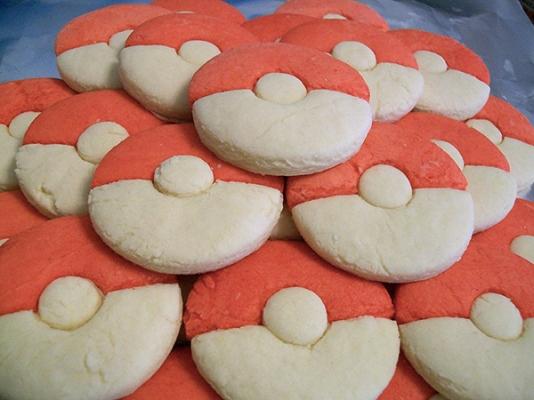 Pokeball Cookies A