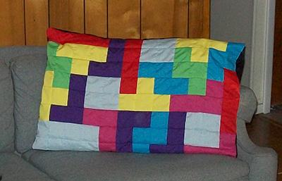 Tetris Pillowcase