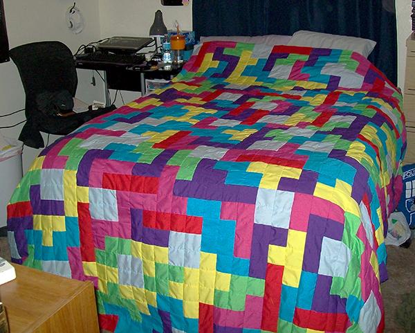 Tetris Quilt C
