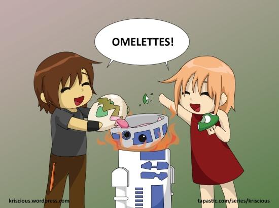 Omelettes 3
