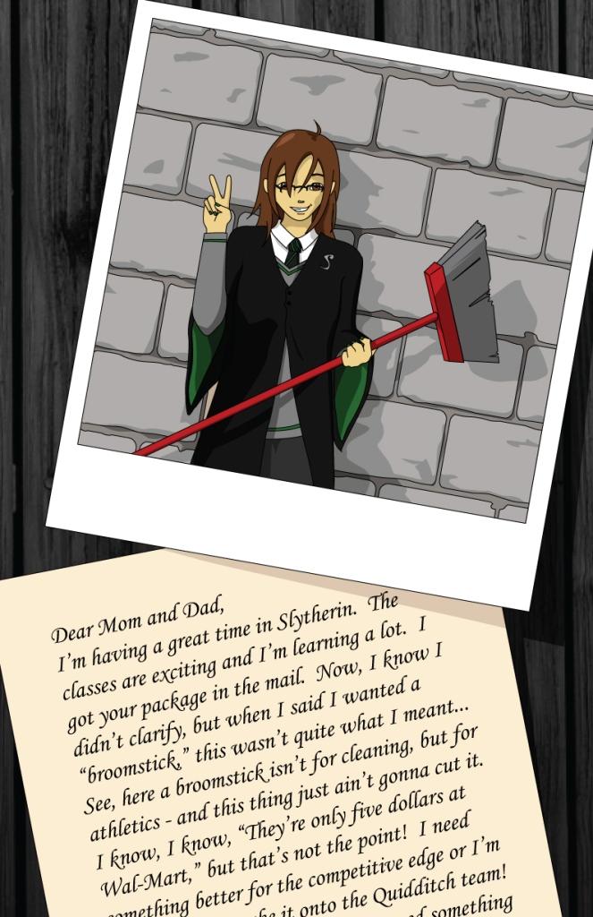 Hogwarts Krissye (Slytherin)
