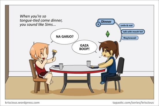Sims Dinner 2