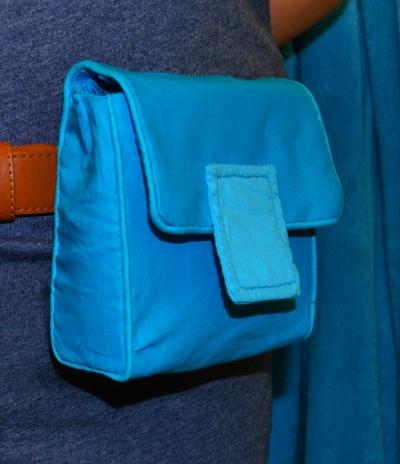 Bulma Pack, blue belt