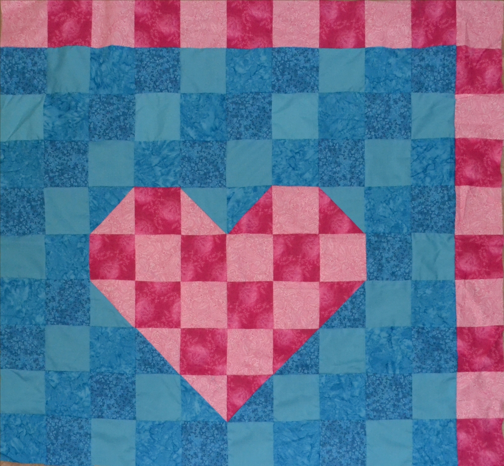 Heart Quilt day 20