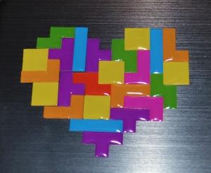 Tetrimino Stickers 2