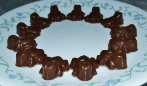 Chocolate (mini) Frogs 1