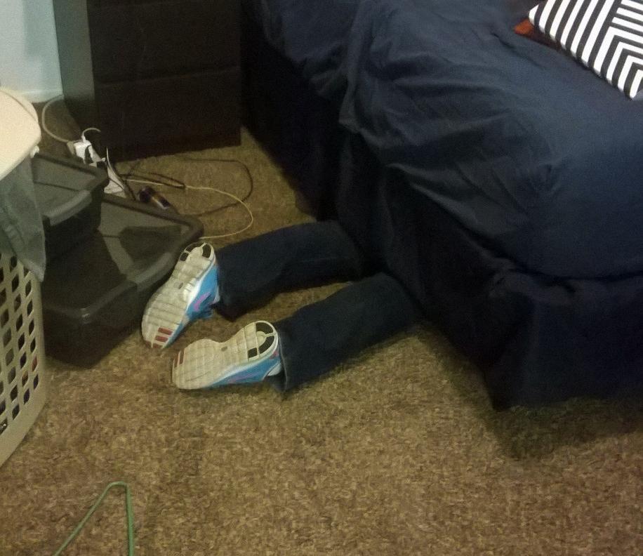 Crysta's feet, 2015
