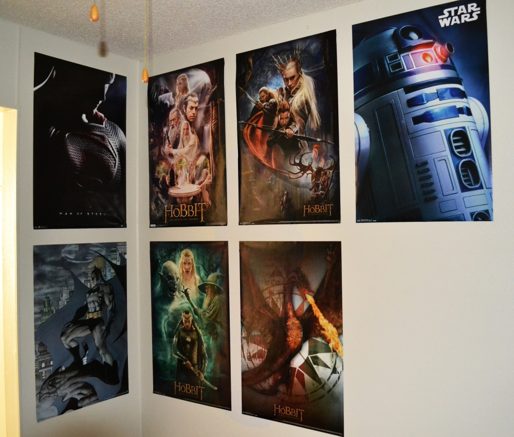 Poster Wall, 2014 end