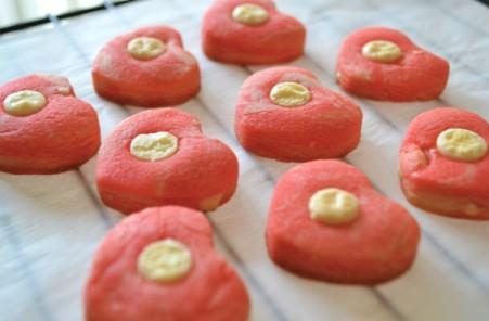 Valentines scrap cookies 1