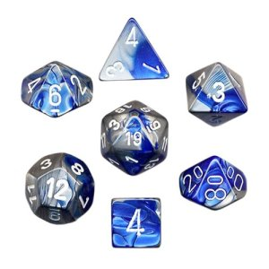 Blue Steel dice