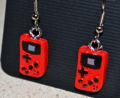 Gameboy Color dangle earrings