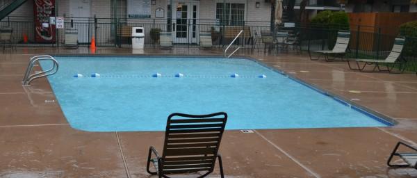 5-21 Rain on the pool