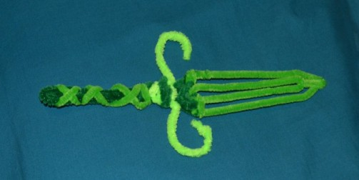 Pipecleaner Swords 2