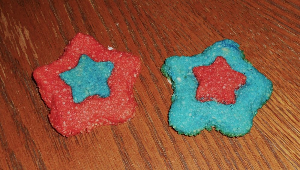 July 4 Star cookies