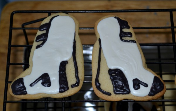 Portal Boot sugar cookies 1