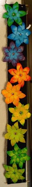 Paper flower ribbon