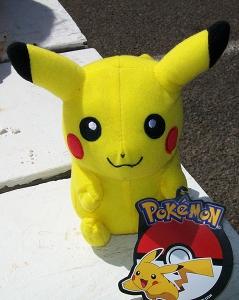 Pikachu plush B