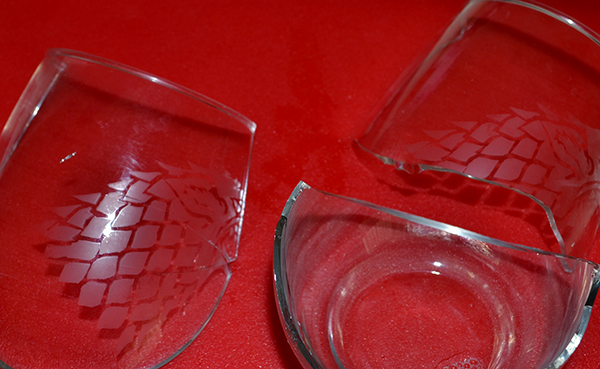 Sigil Stark glass - broken
