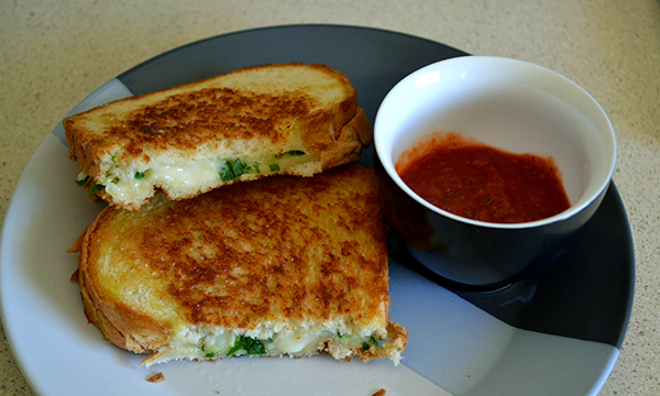 Grilled Pizza sandwich 1