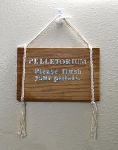 Pelletorium sign